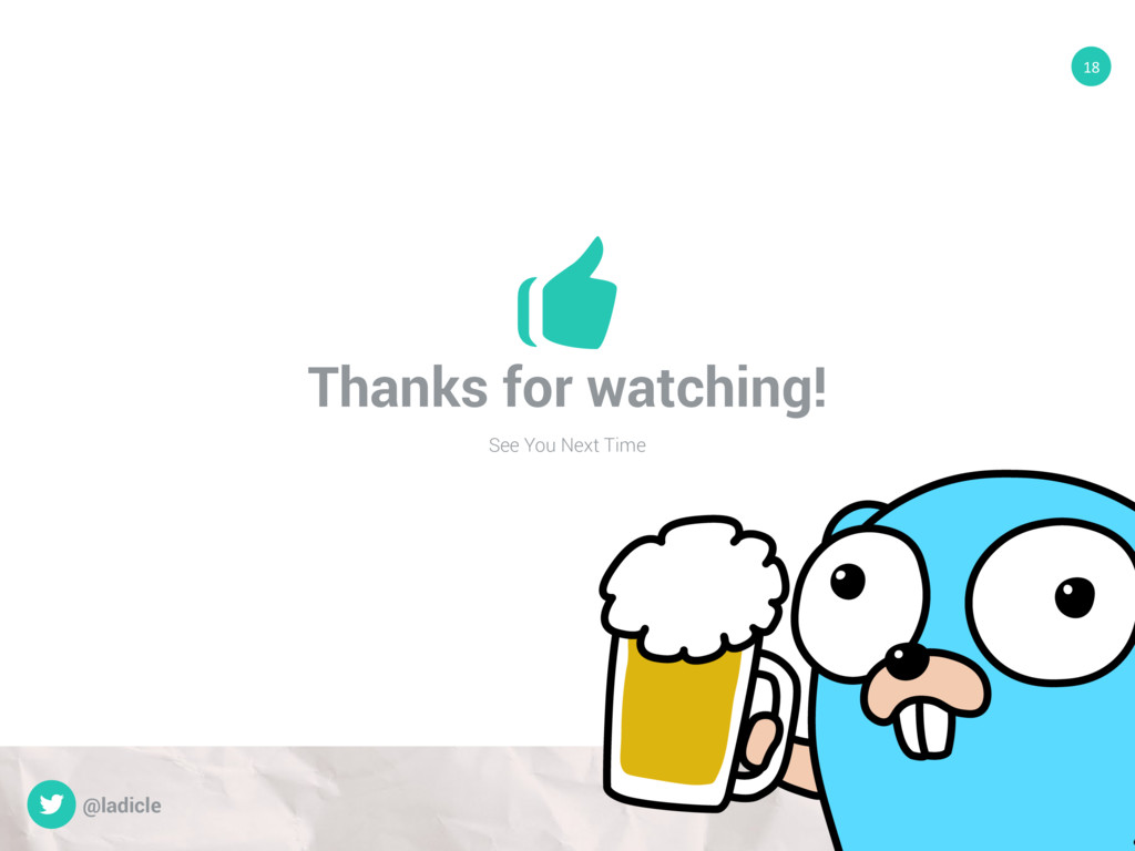 Thanks for watching! See You Next Time 18 @ladi...