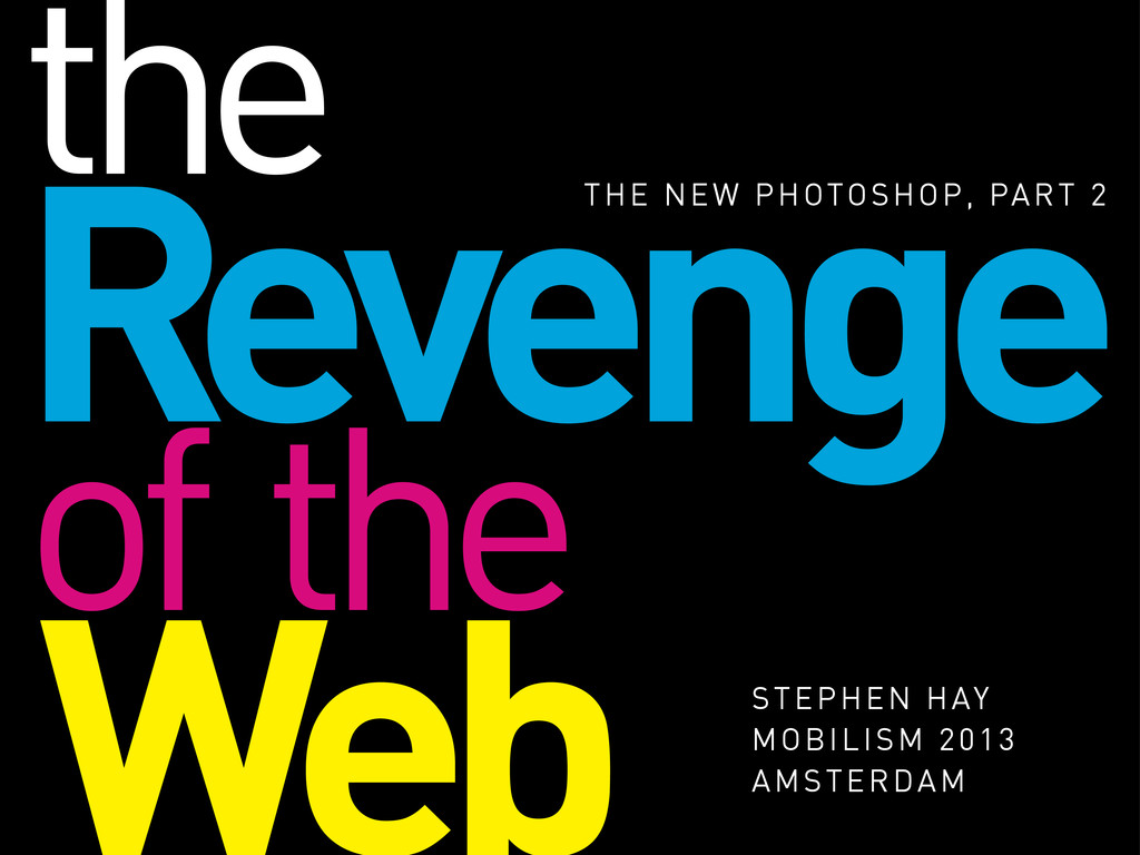 Revenge THE NEW PHOTOSHOP, PART 2 Web STEPHEN H...