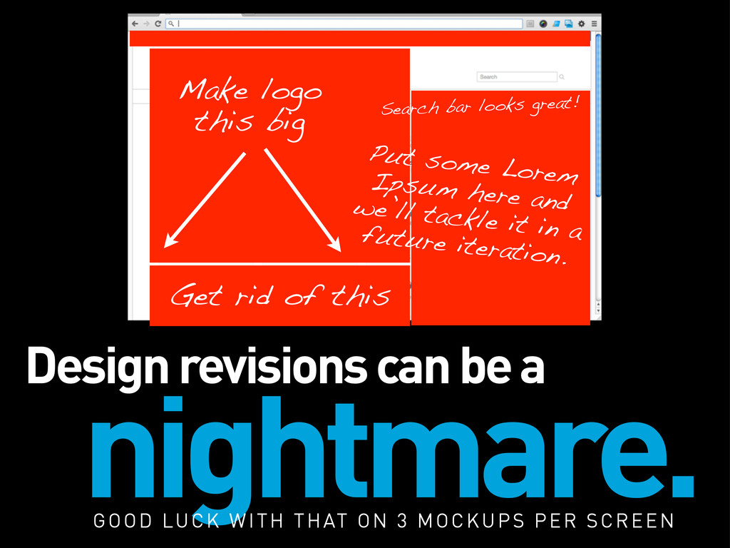 Design revisions can be a nightmare. Get rid of...