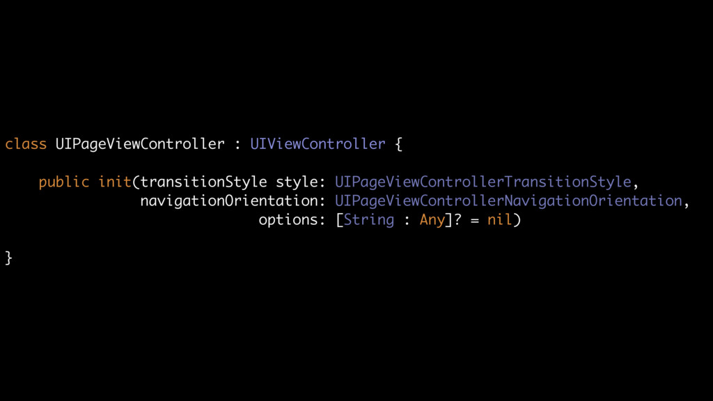 class UIPageViewController : UIViewController {...