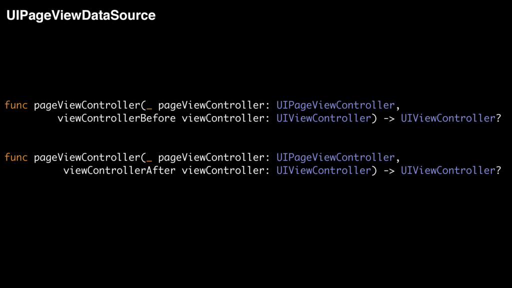 func pageViewController(_ pageViewController: U...