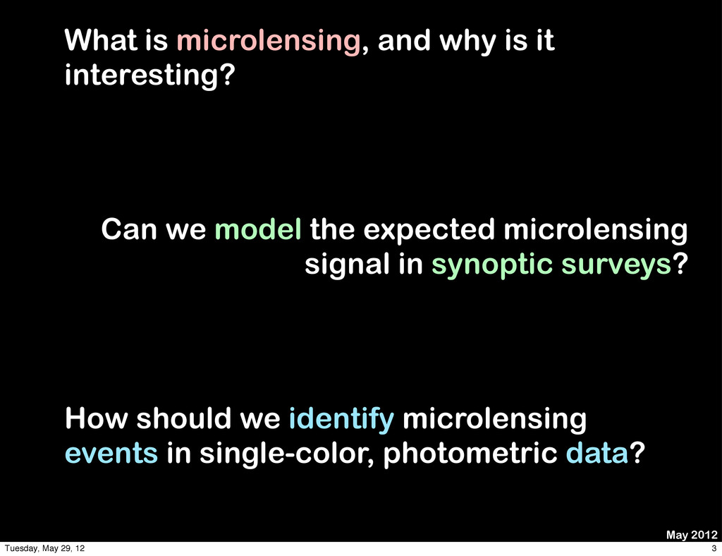What is microlensing, and why is it interesting...