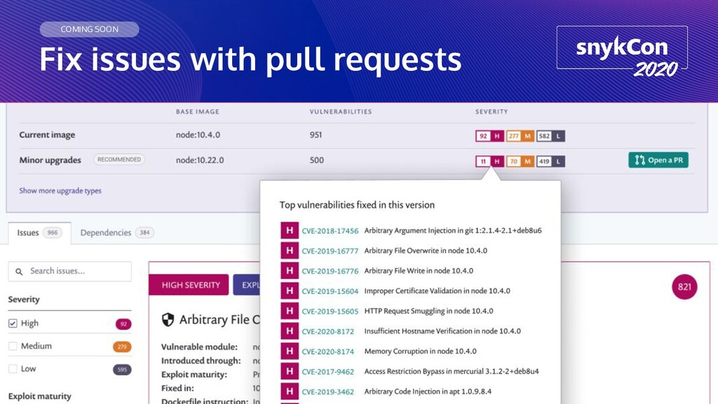 Fix issues with pull requests COMING SOON