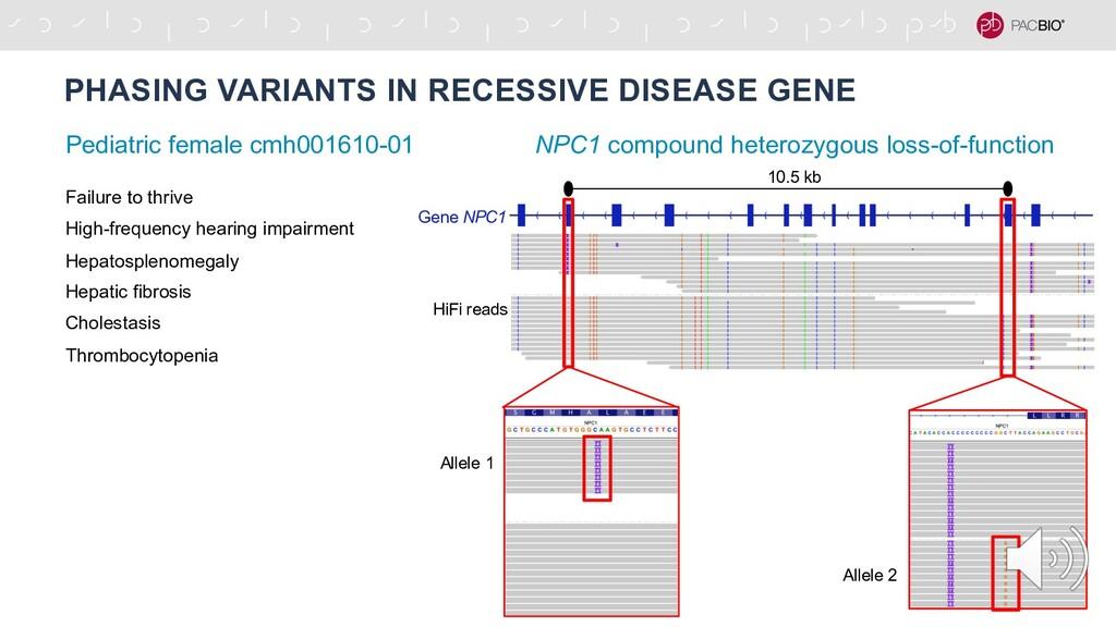 PHASING VARIANTS IN RECESSIVE DISEASE GENE NPC1...