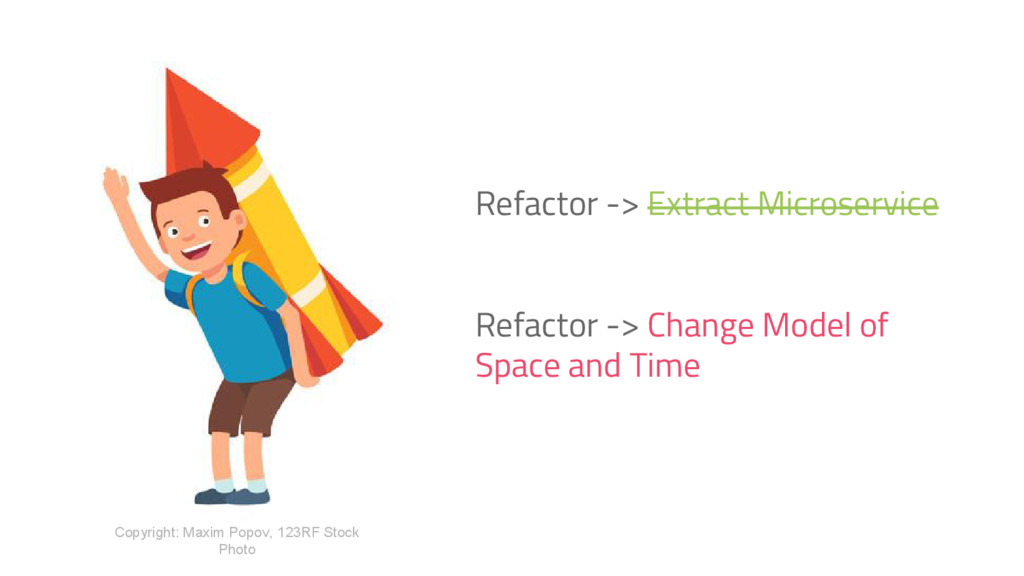 Refactor -> Extract Microservice Refactor -> Ch...