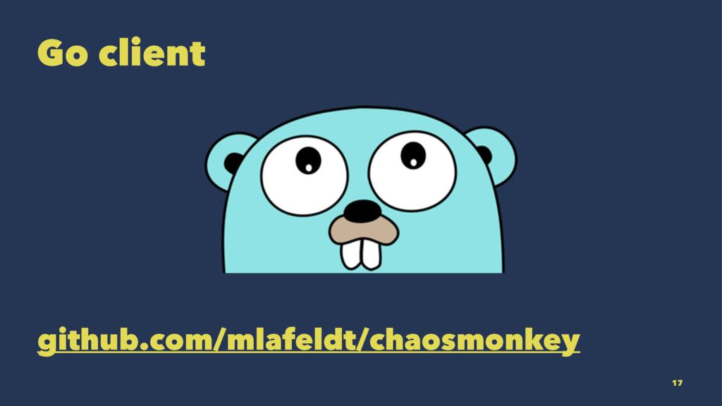Go client github.com/mlafeldt/chaosmonkey 17