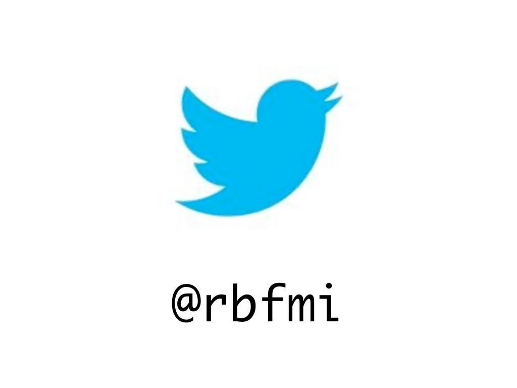 @rbfmi