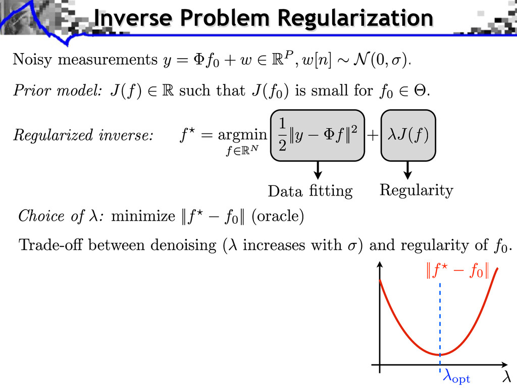 Inverse Problem Regularization