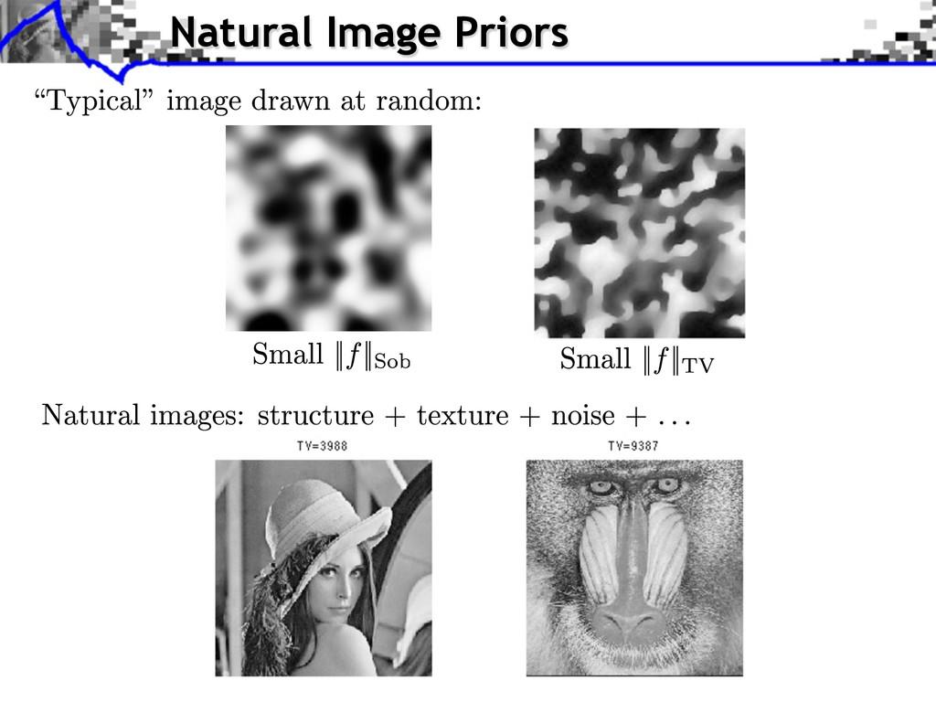 Natural Image Priors