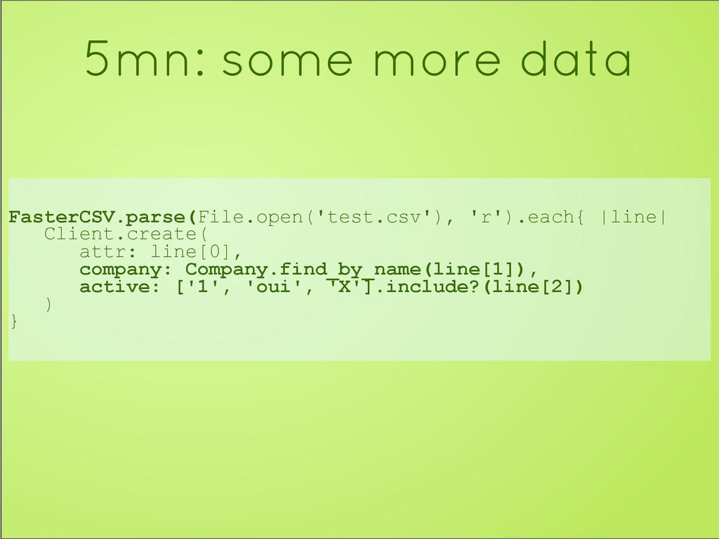 FasterCSV.parse(File.open('test.csv'), 'r').eac...