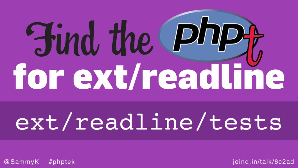 joind.in/talk/6c2ad @SammyK #phptek for ext/rea...