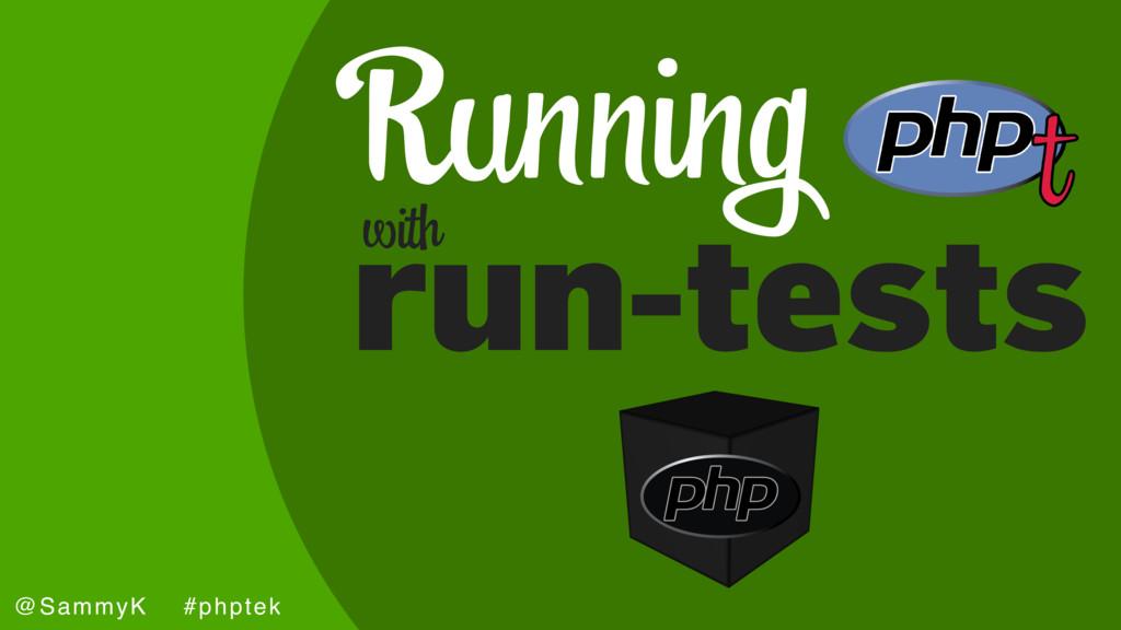 joind.in/talk/6c2ad @SammyK #phptek Running run...