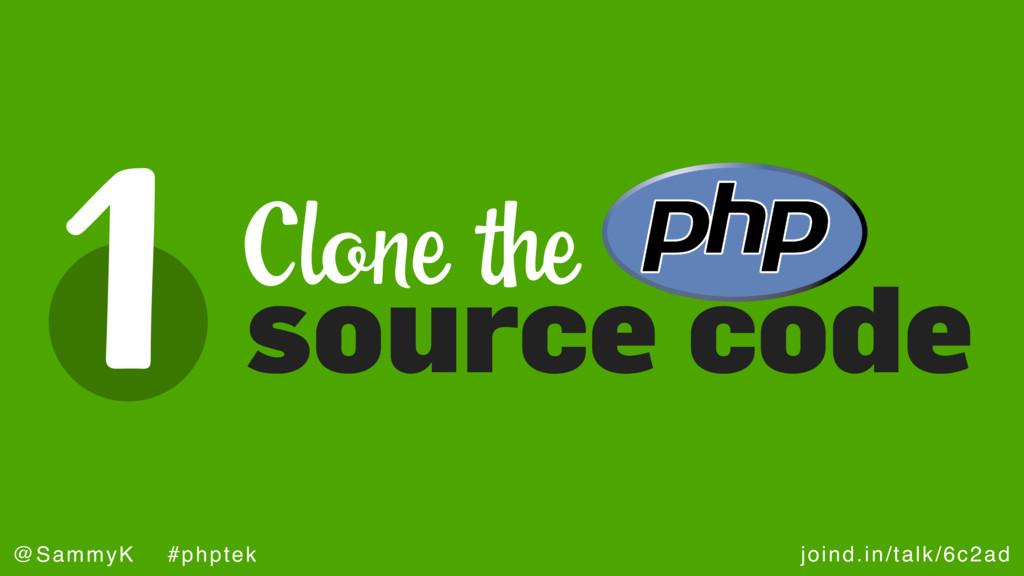 joind.in/talk/6c2ad @SammyK #phptek 1 source co...