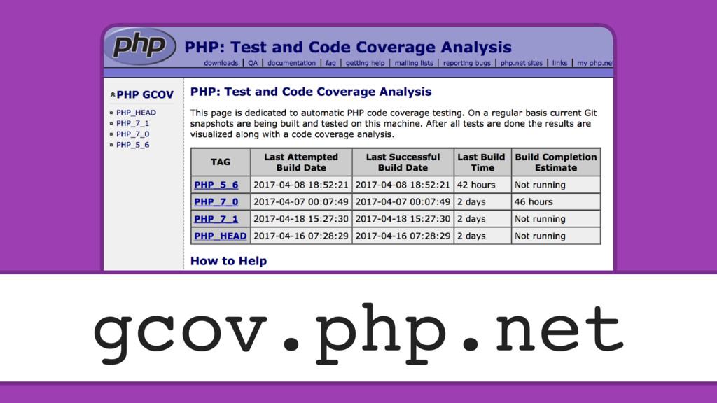 gcov.php.net