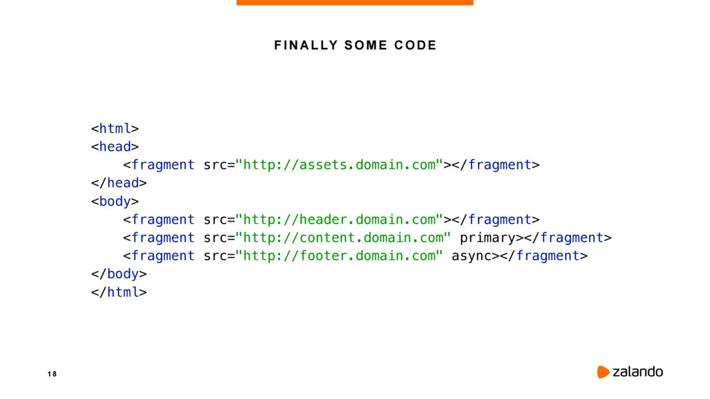 1 8 FINALLY SOME CODE <html> <head> <fragment...