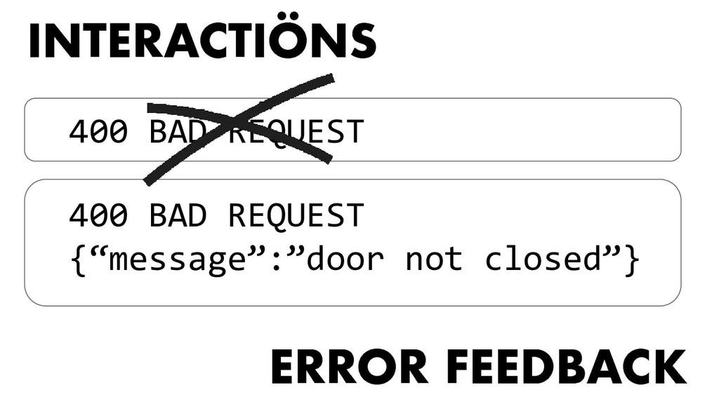 "400 BAD REQUEST 400 BAD REQUEST {""message"":""doo..."