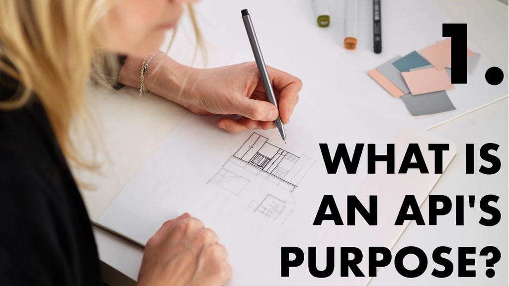 What is an API's purpose?