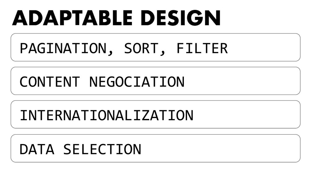 PAGINATION, SORT, FILTER INTERNATIONALIZATION C...