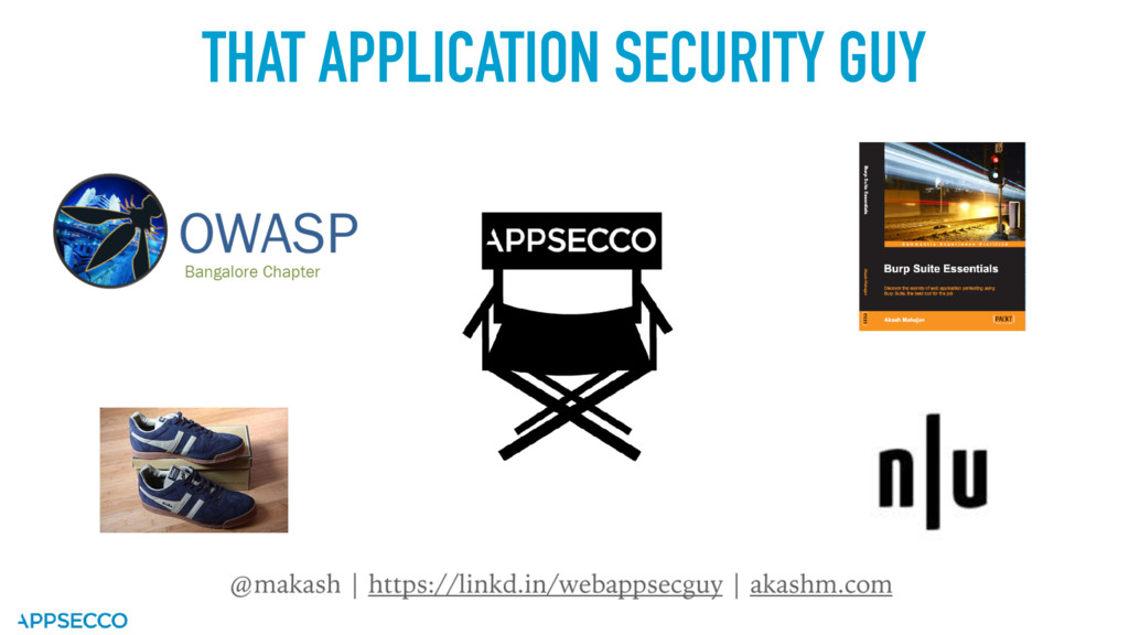THAT APPLICATION SECURITY GUY