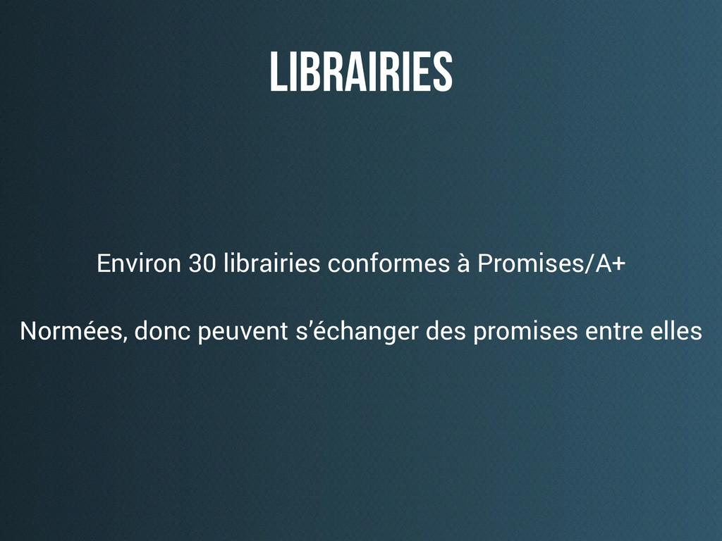 librairies Environ 30 librairies conformes à Pr...