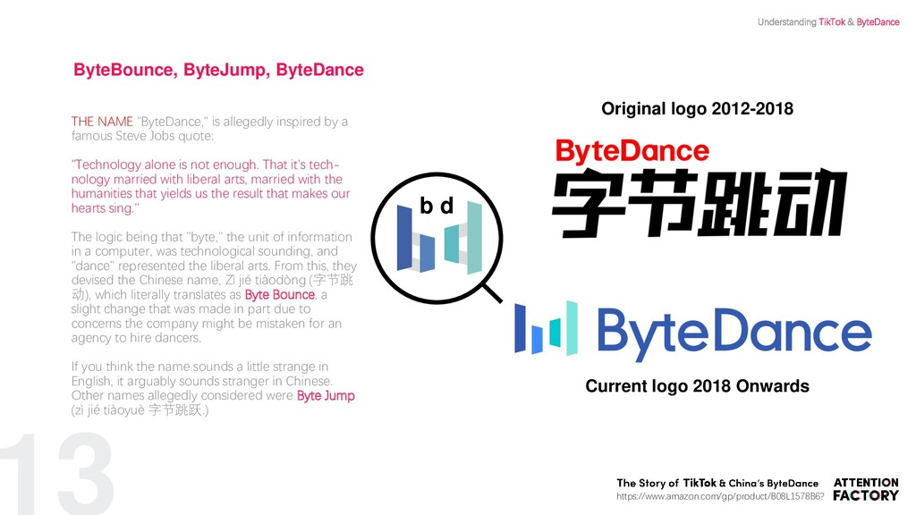 "13 ByteBounce, ByteJump, ByteDance THE NAME ""By..."