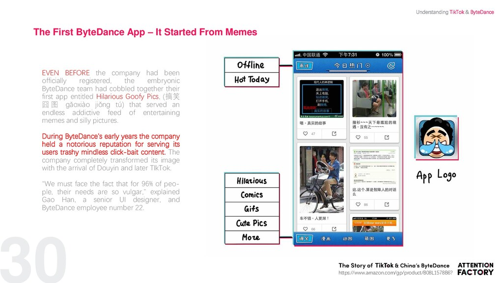 30 The First ByteDance App – It Started From Me...