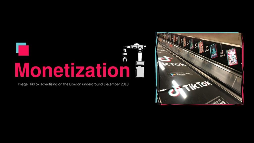Monetization Image: TikTok advertising on the L...