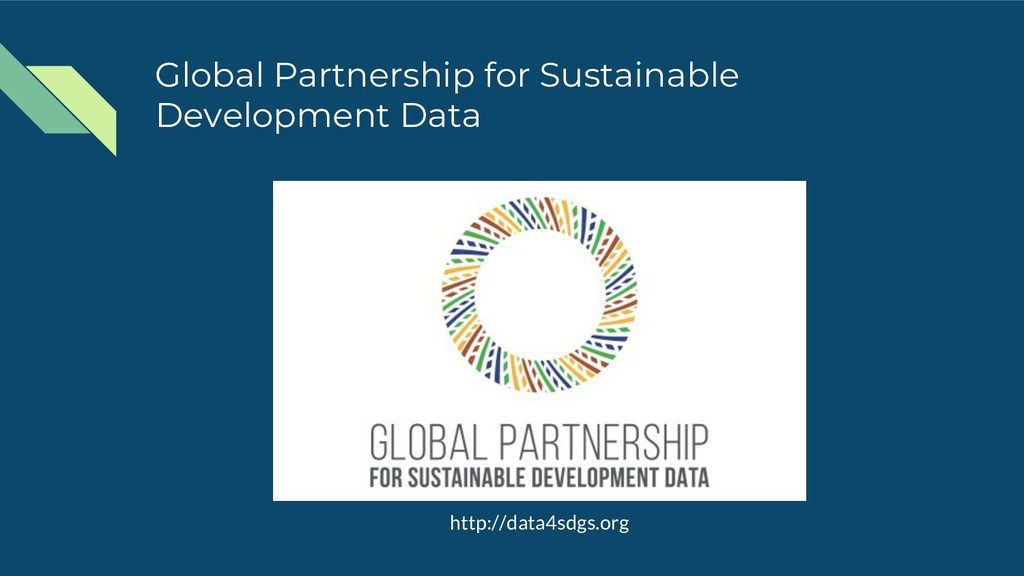 Global Partnership for Sustainable Development ...