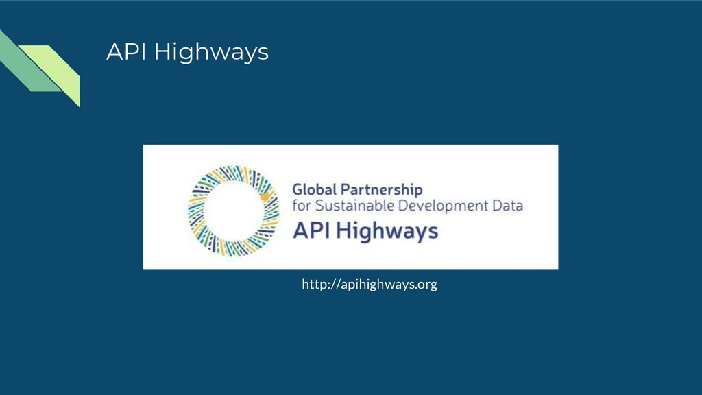 API Highways http://apihighways.org