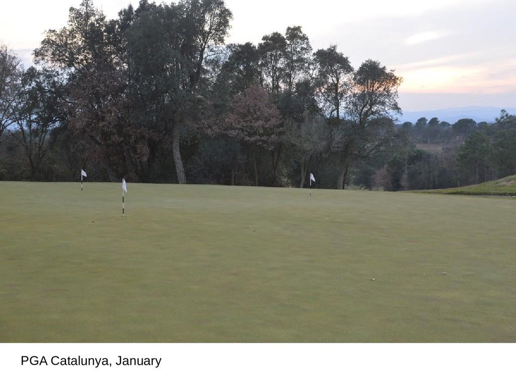 PGA Catalunya, January