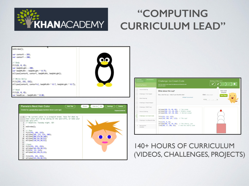 """COMPUTING CURRICULUM LEAD"" 140+ HOURS OF CURRI..."