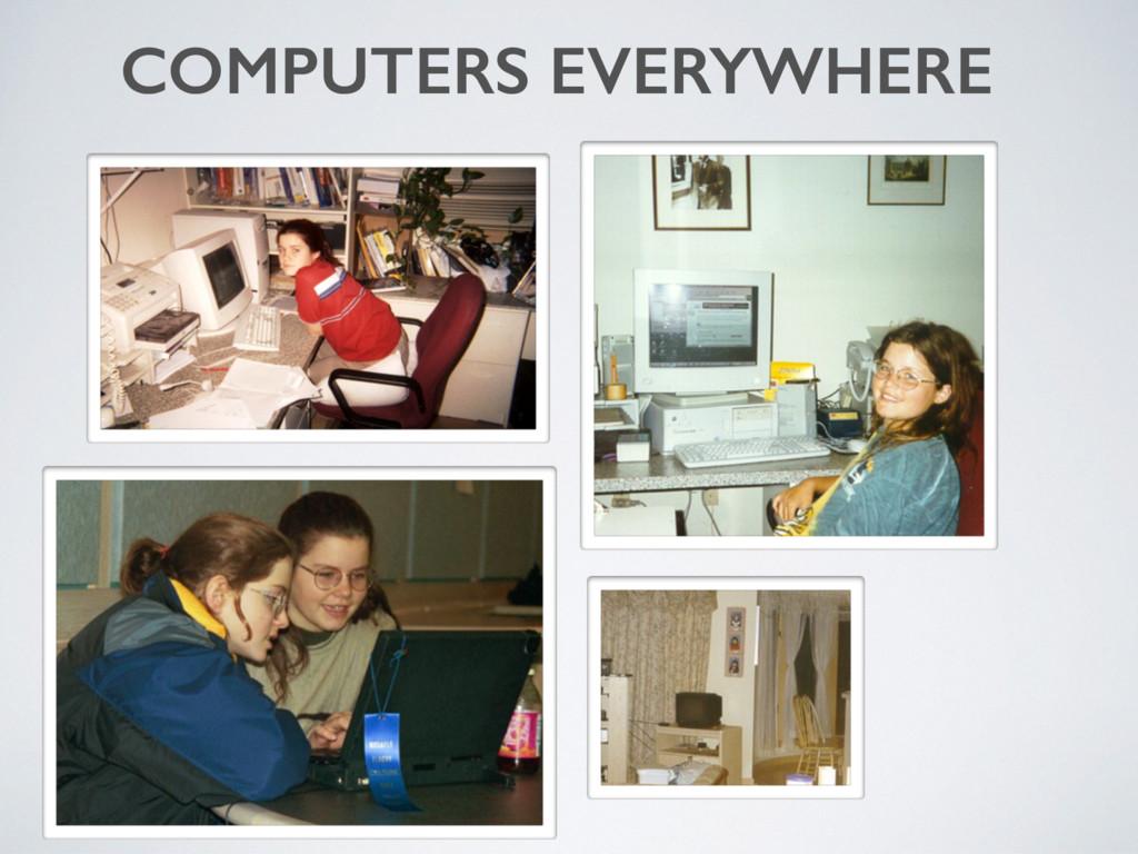 COMPUTERS EVERYWHERE