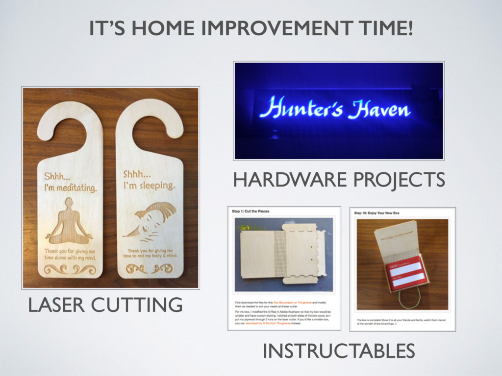 IT'S HOME IMPROVEMENT TIME! HARDWARE PROJECTS L...