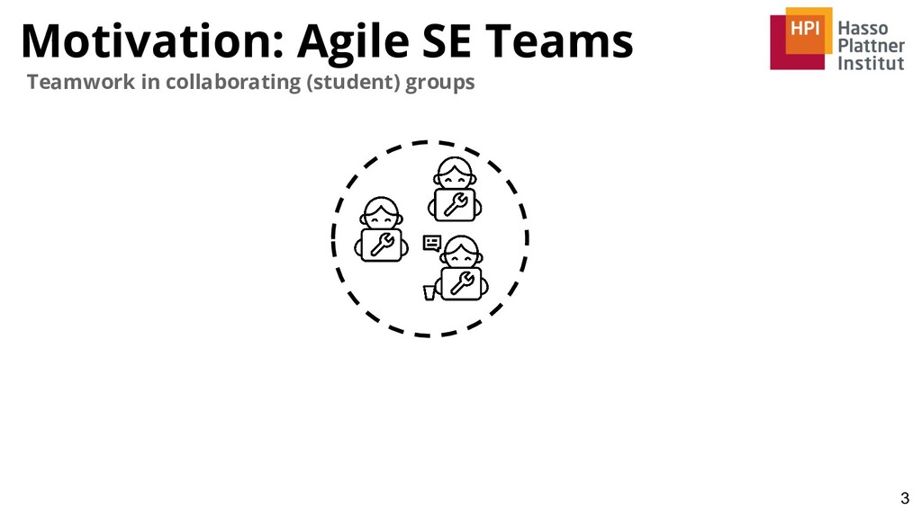 Motivation: Agile SE Teams 3 Teamwork in collab...