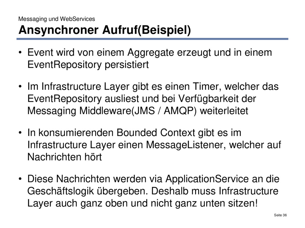 Messaging und WebServices Ansynchroner Aufruf(B...