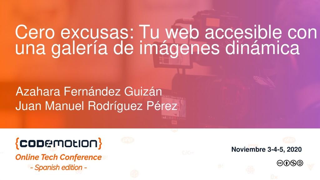 Cero excusas: Tu web accesible con una galería ...