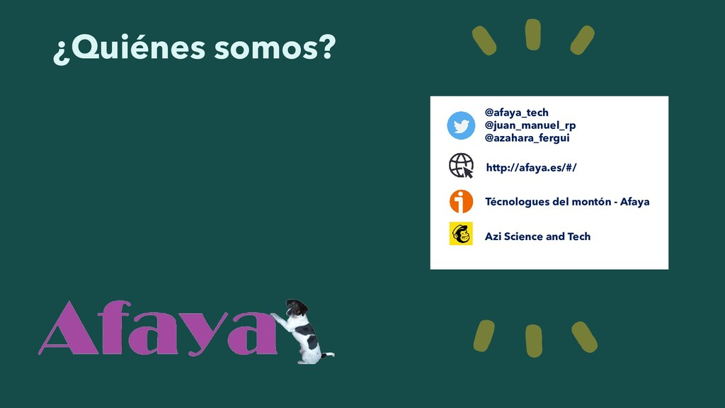 http://afaya.es/#/ http://afaya.es/#/ @afaya_te...