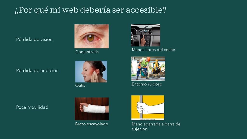 ¿Por qué mi web debería ser accesible? Pérdida ...