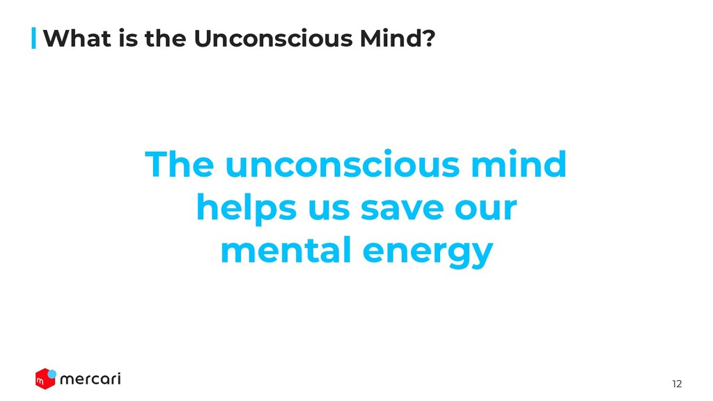 12 What is the Unconscious Mind? The unconsciou...