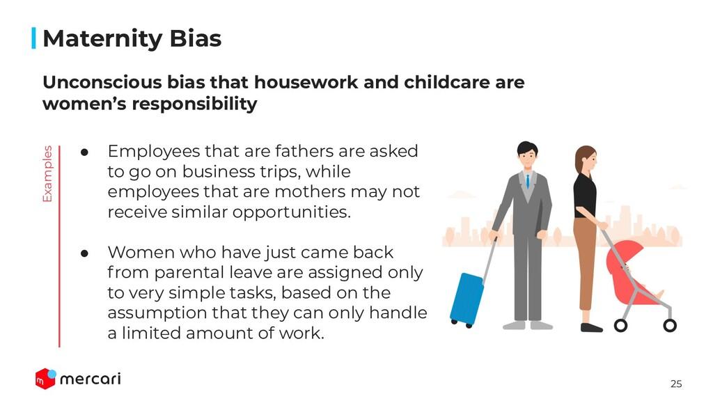 25 Maternity Bias Unconscious bias that housewo...