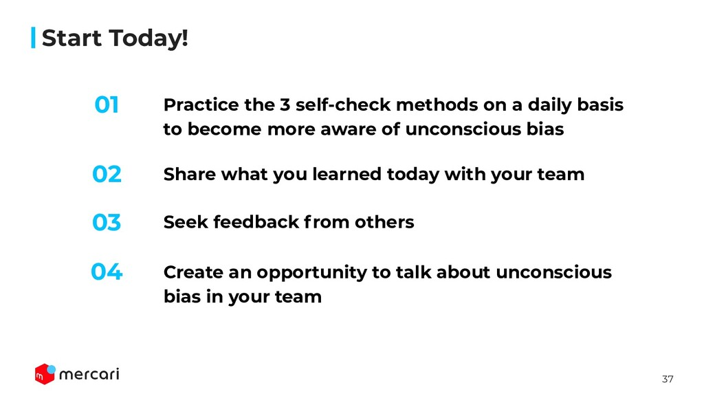 37 Start Today! Practice the 3 self-check metho...