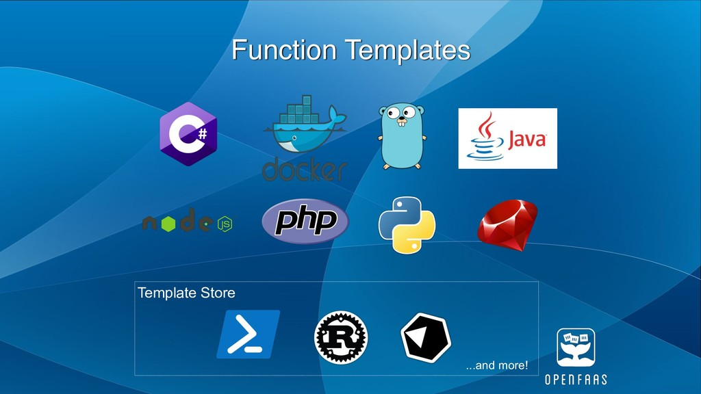 Function Templates ...and more! Template Store