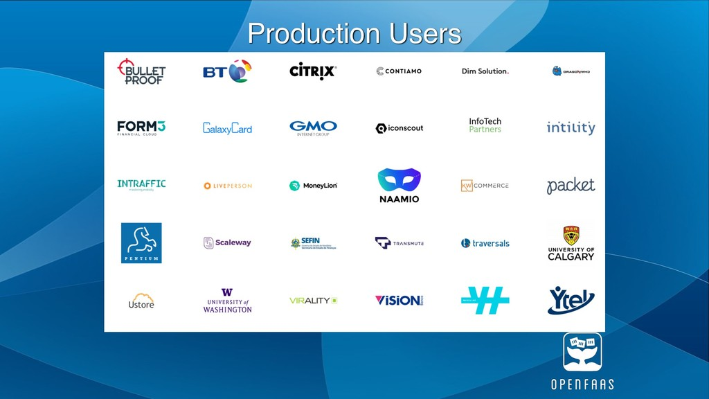 Production Users