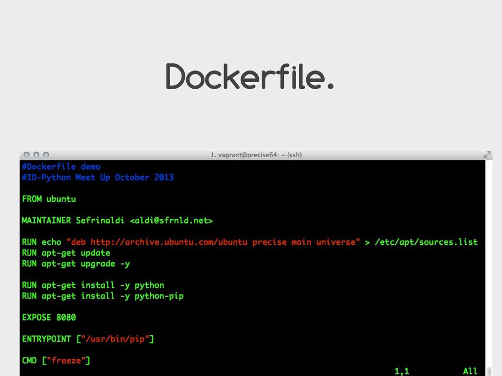 Dockerfile.