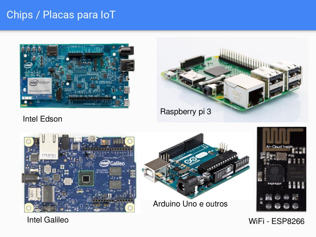 Chips / Placas para IoT Raspberry pi 3 WiFi - E...