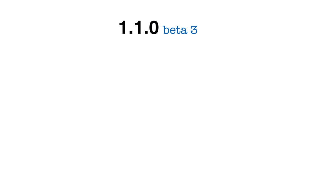 beta 3 1.1.0