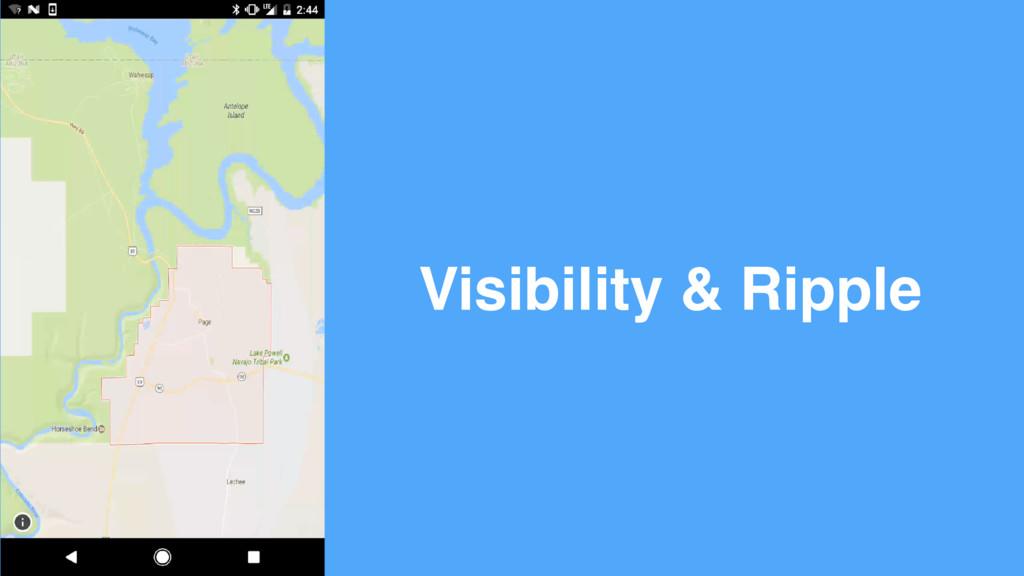 Visibility & Ripple