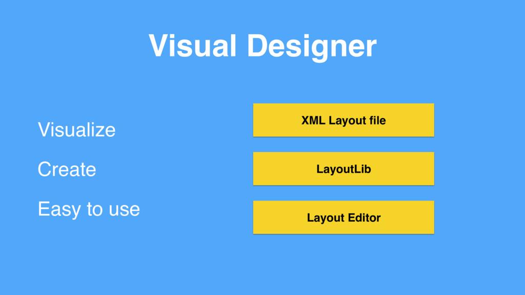 Visual Designer Visualize Create Easy to use La...