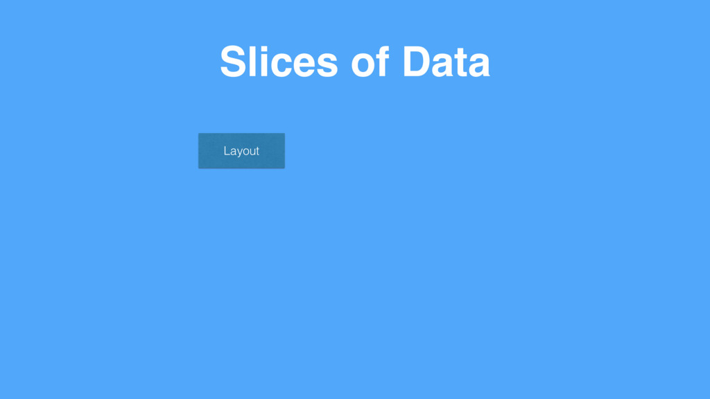 Slices of Data Layout