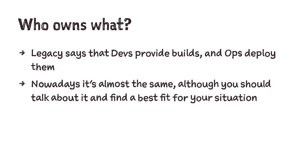 Who owns what? 4 Legacy says that Devs provide ...